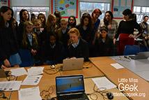 Little Miss Geek ICT School Takeover