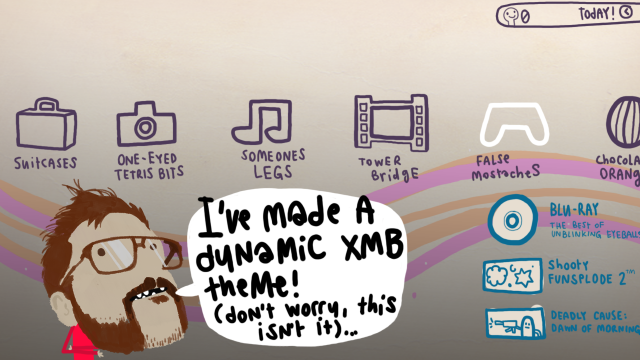Rex made a dynamic PS3 theme! [Archive] - LittleBigPlanet