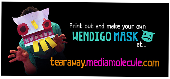 Make your own Wendigo Mask