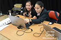 Little Miss Geek ICT School Takeover