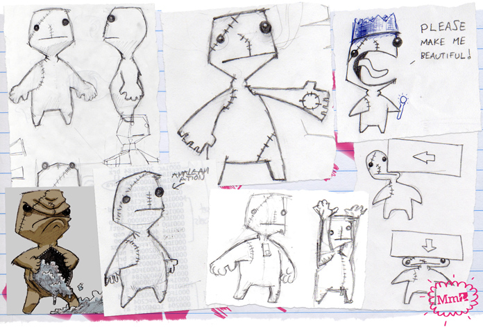 Character Design Website : From yellowhead to sackboy media molecule