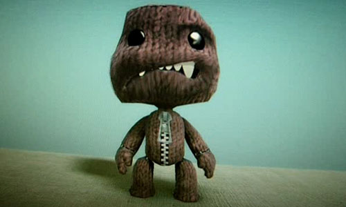 Sackboy Smiles for the camera