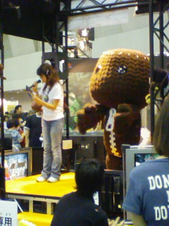 Five foot tall sackboy dancing on stage. Yeah?