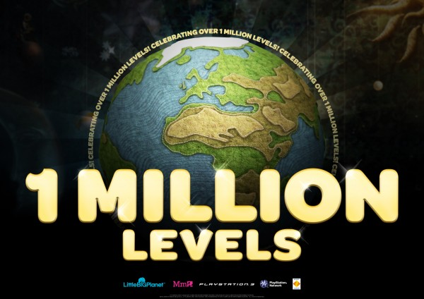 Over 1 Million Levels!